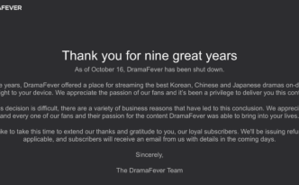 DramaFever canceled